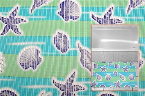 duschmatte antirutschmatte muscheln 65cm breite l nge nach wunsch ebay. Black Bedroom Furniture Sets. Home Design Ideas