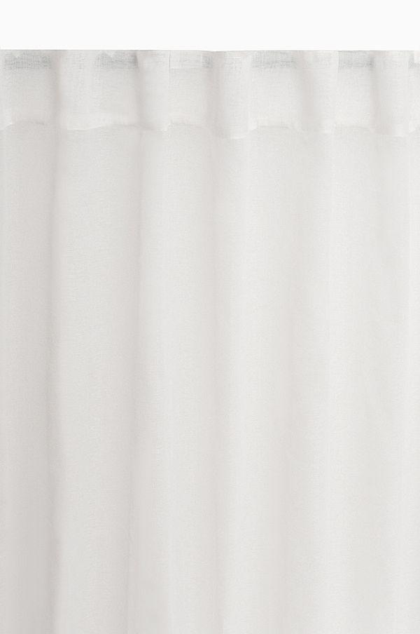 schlaufenschal vorhang gardine voile 140cm x 245cm farbe w hlbar. Black Bedroom Furniture Sets. Home Design Ideas